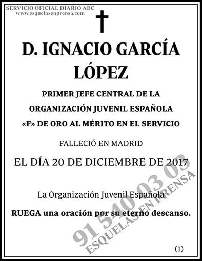 Ignacio García López